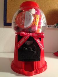 Bubble gum machine
