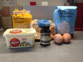 Cupcakes-ingredients