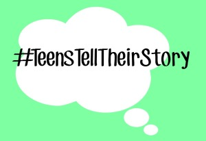 #TeensTellTheirStory Button